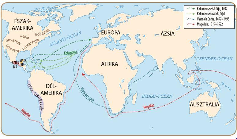 A Nagy Foldrajzi Felfedezesek